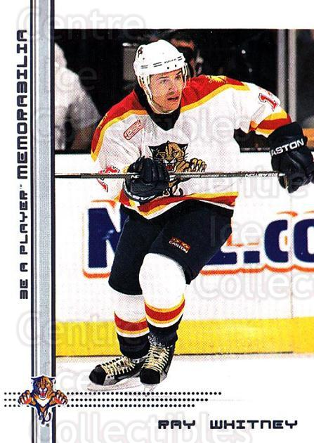 2000-01 BAP Memorabilia #93 Ray Whitney<br/>11 In Stock - $1.00 each - <a href=https://centericecollectibles.foxycart.com/cart?name=2000-01%20BAP%20Memorabilia%20%2393%20Ray%20Whitney...&quantity_max=11&price=$1.00&code=193875 class=foxycart> Buy it now! </a>