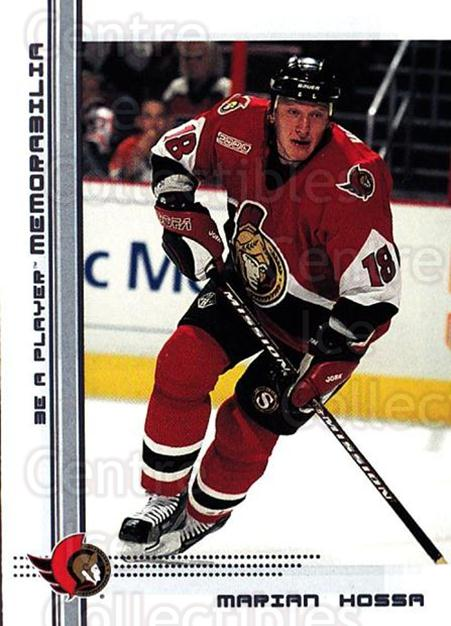 2000-01 BAP Memorabilia #94 Marian Hossa<br/>7 In Stock - $1.00 each - <a href=https://centericecollectibles.foxycart.com/cart?name=2000-01%20BAP%20Memorabilia%20%2394%20Marian%20Hossa...&quantity_max=7&price=$1.00&code=193876 class=foxycart> Buy it now! </a>