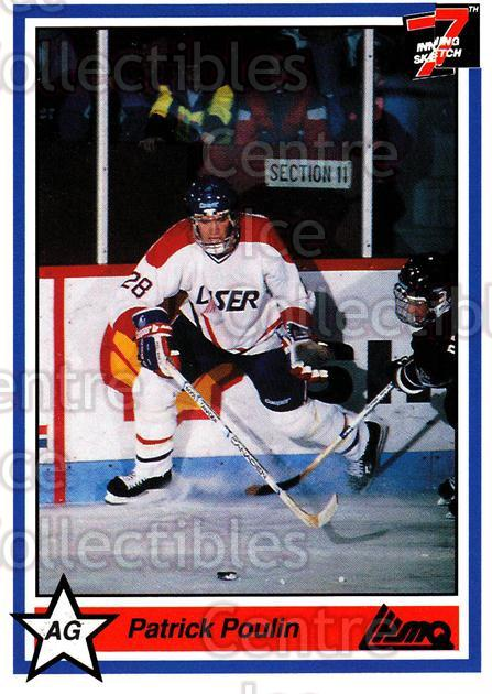 1990-91 7th Inning Sketch QMJHL #1 Patrick Poulin<br/>9 In Stock - $1.00 each - <a href=https://centericecollectibles.foxycart.com/cart?name=1990-91%207th%20Inning%20Sketch%20QMJHL%20%231%20Patrick%20Poulin...&price=$1.00&code=19399 class=foxycart> Buy it now! </a>