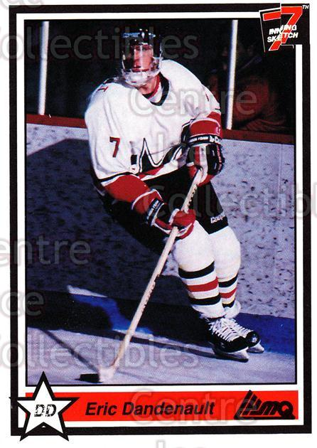 1990-91 7th Inning Sketch QMJHL #10 Eric Dandenault<br/>8 In Stock - $1.00 each - <a href=https://centericecollectibles.foxycart.com/cart?name=1990-91%207th%20Inning%20Sketch%20QMJHL%20%2310%20Eric%20Dandenault...&price=$1.00&code=19400 class=foxycart> Buy it now! </a>