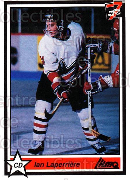 1990-91 7th Inning Sketch QMJHL #14 Ian Laperriere<br/>9 In Stock - $1.00 each - <a href=https://centericecollectibles.foxycart.com/cart?name=1990-91%207th%20Inning%20Sketch%20QMJHL%20%2314%20Ian%20Laperriere...&price=$1.00&code=19443 class=foxycart> Buy it now! </a>