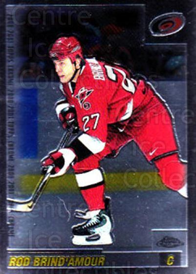 2000-01 Topps Chrome #45 Rod Brind'Amour<br/>5 In Stock - $1.00 each - <a href=https://centericecollectibles.foxycart.com/cart?name=2000-01%20Topps%20Chrome%20%2345%20Rod%20Brind'Amour...&quantity_max=5&price=$1.00&code=194746 class=foxycart> Buy it now! </a>