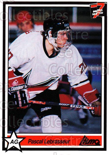 1990-91 7th Inning Sketch QMJHL #17 Pascal Lebrasseur<br/>9 In Stock - $1.00 each - <a href=https://centericecollectibles.foxycart.com/cart?name=1990-91%207th%20Inning%20Sketch%20QMJHL%20%2317%20Pascal%20Lebrasse...&price=$1.00&code=19475 class=foxycart> Buy it now! </a>