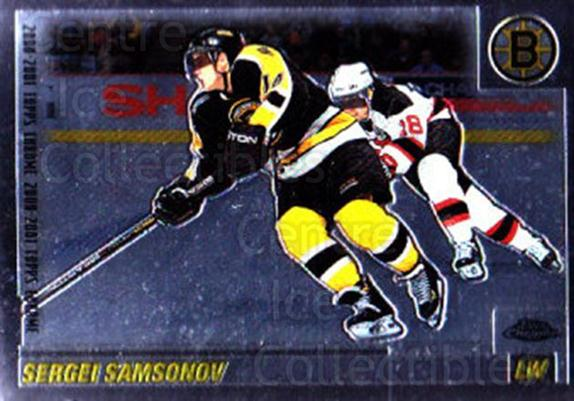 2000-01 Topps Chrome #84 Sergei Samsonov<br/>3 In Stock - $1.00 each - <a href=https://centericecollectibles.foxycart.com/cart?name=2000-01%20Topps%20Chrome%20%2384%20Sergei%20Samsonov...&quantity_max=3&price=$1.00&code=194781 class=foxycart> Buy it now! </a>