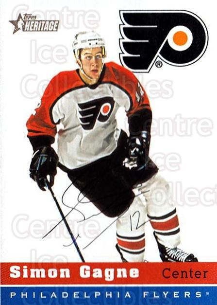 2000-01 Topps Heritage #69 Simon Gagne<br/>5 In Stock - $1.00 each - <a href=https://centericecollectibles.foxycart.com/cart?name=2000-01%20Topps%20Heritage%20%2369%20Simon%20Gagne...&quantity_max=5&price=$1.00&code=194846 class=foxycart> Buy it now! </a>