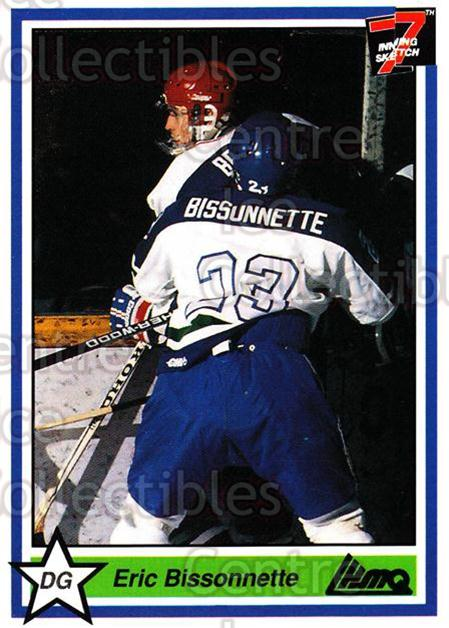 1990-91 7th Inning Sketch QMJHL #205 Eric Bissonette<br/>9 In Stock - $1.00 each - <a href=https://centericecollectibles.foxycart.com/cart?name=1990-91%207th%20Inning%20Sketch%20QMJHL%20%23205%20Eric%20Bissonette...&quantity_max=9&price=$1.00&code=19514 class=foxycart> Buy it now! </a>