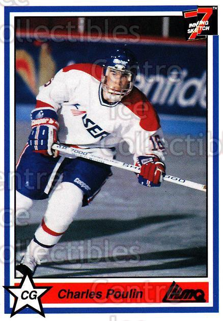 1990-91 7th Inning Sketch QMJHL #220 Charles Poulin<br/>8 In Stock - $1.00 each - <a href=https://centericecollectibles.foxycart.com/cart?name=1990-91%207th%20Inning%20Sketch%20QMJHL%20%23220%20Charles%20Poulin...&price=$1.00&code=19531 class=foxycart> Buy it now! </a>