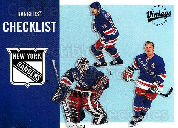 2000-01 UD Vintage #246 Mark Messier, Mike Richter, Adam Graves, Checklist<br/>4 In Stock - $1.00 each - <a href=https://centericecollectibles.foxycart.com/cart?name=2000-01%20UD%20Vintage%20%23246%20Mark%20Messier,%20M...&quantity_max=4&price=$1.00&code=195403 class=foxycart> Buy it now! </a>