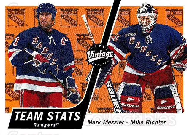 2000-01 UD Vintage #247 Mark Messier, Mike Richter<br/>6 In Stock - $1.00 each - <a href=https://centericecollectibles.foxycart.com/cart?name=2000-01%20UD%20Vintage%20%23247%20Mark%20Messier,%20M...&quantity_max=6&price=$1.00&code=195404 class=foxycart> Buy it now! </a>