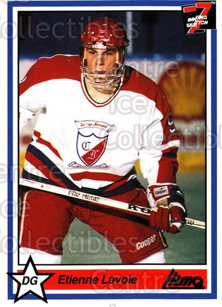 1990-91 7th Inning Sketch QMJHL #230 Etienne Lavoie<br/>9 In Stock - $1.00 each - <a href=https://centericecollectibles.foxycart.com/cart?name=1990-91%207th%20Inning%20Sketch%20QMJHL%20%23230%20Etienne%20Lavoie...&quantity_max=9&price=$1.00&code=19541 class=foxycart> Buy it now! </a>