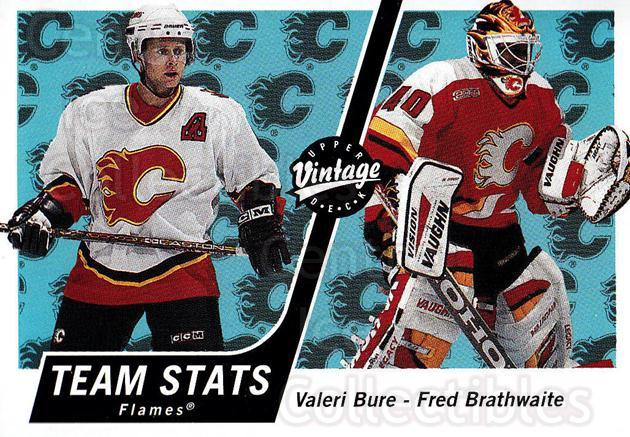 2000-01 UD Vintage #62 Valeri Bure, Fred Brathwaite<br/>3 In Stock - $1.00 each - <a href=https://centericecollectibles.foxycart.com/cart?name=2000-01%20UD%20Vintage%20%2362%20Valeri%20Bure,%20Fr...&quantity_max=3&price=$1.00&code=195578 class=foxycart> Buy it now! </a>