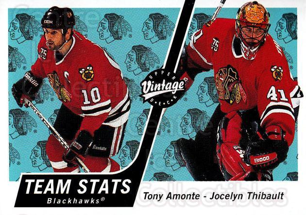 2000-01 UD Vintage #86 Tony Amonte, Jocelyn Thibault<br/>6 In Stock - $1.00 each - <a href=https://centericecollectibles.foxycart.com/cart?name=2000-01%20UD%20Vintage%20%2386%20Tony%20Amonte,%20Jo...&quantity_max=6&price=$1.00&code=195602 class=foxycart> Buy it now! </a>