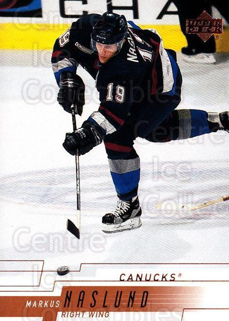 2000-01 Upper Deck #167 Markus Naslund<br/>5 In Stock - $1.00 each - <a href=https://centericecollectibles.foxycart.com/cart?name=2000-01%20Upper%20Deck%20%23167%20Markus%20Naslund...&quantity_max=5&price=$1.00&code=195690 class=foxycart> Buy it now! </a>
