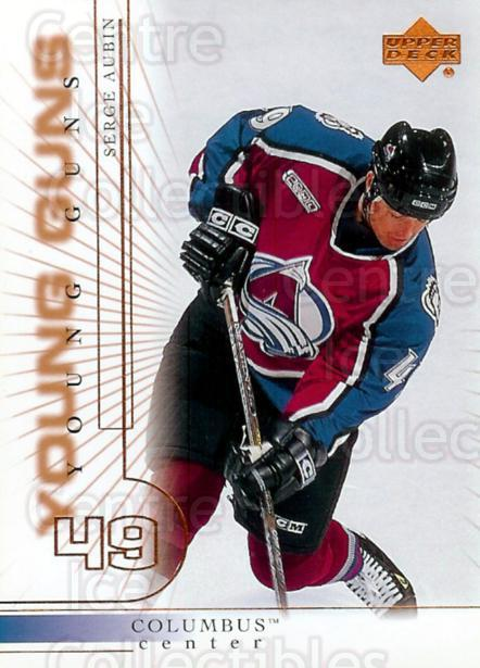2000-01 Upper Deck #182 Serge Aubin<br/>2 In Stock - $3.00 each - <a href=https://centericecollectibles.foxycart.com/cart?name=2000-01%20Upper%20Deck%20%23182%20Serge%20Aubin...&price=$3.00&code=195706 class=foxycart> Buy it now! </a>