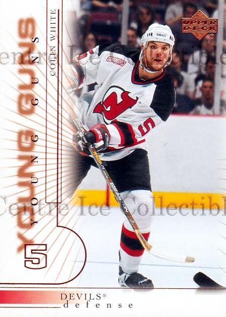 2000-01 Upper Deck #189 Colin White<br/>10 In Stock - $3.00 each - <a href=https://centericecollectibles.foxycart.com/cart?name=2000-01%20Upper%20Deck%20%23189%20Colin%20White...&price=$3.00&code=195712 class=foxycart> Buy it now! </a>