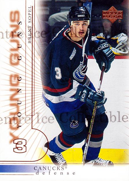 2000-01 Upper Deck #195 Brent Sopel<br/>1 In Stock - $3.00 each - <a href=https://centericecollectibles.foxycart.com/cart?name=2000-01%20Upper%20Deck%20%23195%20Brent%20Sopel...&price=$3.00&code=195719 class=foxycart> Buy it now! </a>