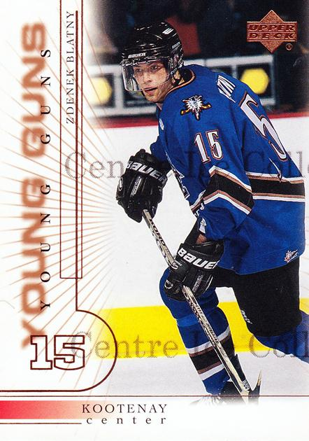 2000-01 Upper Deck #208 Zdenek Blatny<br/>2 In Stock - $3.00 each - <a href=https://centericecollectibles.foxycart.com/cart?name=2000-01%20Upper%20Deck%20%23208%20Zdenek%20Blatny...&price=$3.00&code=195731 class=foxycart> Buy it now! </a>