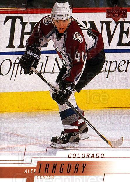 2000-01 Upper Deck #275 Alex Tanguay<br/>4 In Stock - $1.00 each - <a href=https://centericecollectibles.foxycart.com/cart?name=2000-01%20Upper%20Deck%20%23275%20Alex%20Tanguay...&quantity_max=4&price=$1.00&code=195786 class=foxycart> Buy it now! </a>