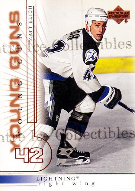 2000-01 Upper Deck #415 Matt Elich<br/>6 In Stock - $3.00 each - <a href=https://centericecollectibles.foxycart.com/cart?name=2000-01%20Upper%20Deck%20%23415%20Matt%20Elich...&price=$3.00&code=195934 class=foxycart> Buy it now! </a>