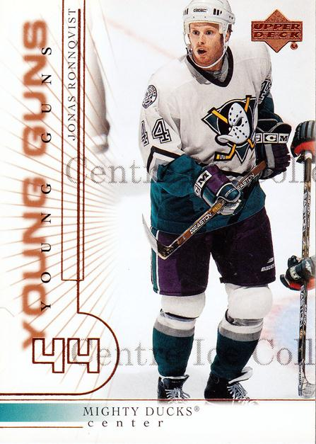 2000-01 Upper Deck #416 Jonas Ronnqvist<br/>4 In Stock - $3.00 each - <a href=https://centericecollectibles.foxycart.com/cart?name=2000-01%20Upper%20Deck%20%23416%20Jonas%20Ronnqvist...&price=$3.00&code=195935 class=foxycart> Buy it now! </a>