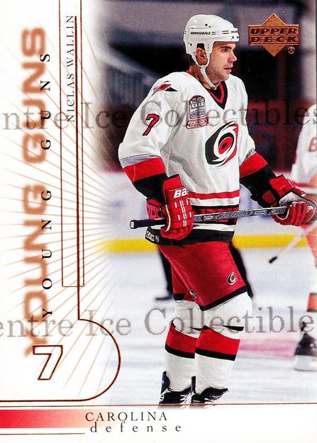 2000-01 Upper Deck #421 Niclas Wallin<br/>1 In Stock - $3.00 each - <a href=https://centericecollectibles.foxycart.com/cart?name=2000-01%20Upper%20Deck%20%23421%20Niclas%20Wallin...&price=$3.00&code=195939 class=foxycart> Buy it now! </a>