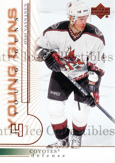 2000-01 Upper Deck #425 Ossi Vaananen<br/>3 In Stock - $3.00 each - <a href=https://centericecollectibles.foxycart.com/cart?name=2000-01%20Upper%20Deck%20%23425%20Ossi%20Vaananen...&price=$3.00&code=195942 class=foxycart> Buy it now! </a>
