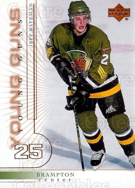 2000-01 Upper Deck #438 Jeff Bateman<br/>3 In Stock - $3.00 each - <a href=https://centericecollectibles.foxycart.com/cart?name=2000-01%20Upper%20Deck%20%23438%20Jeff%20Bateman...&price=$3.00&code=195950 class=foxycart> Buy it now! </a>