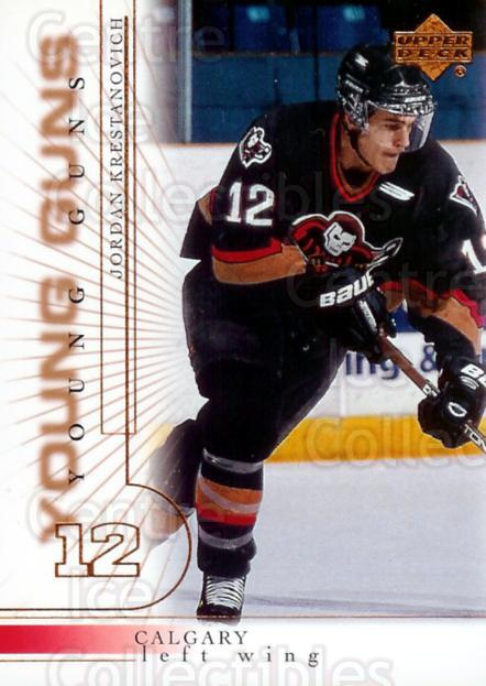 2000-01 Upper Deck #440 Jordan Krestanovich<br/>4 In Stock - $3.00 each - <a href=https://centericecollectibles.foxycart.com/cart?name=2000-01%20Upper%20Deck%20%23440%20Jordan%20Krestano...&price=$3.00&code=195952 class=foxycart> Buy it now! </a>