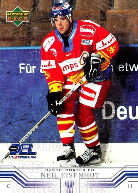 2001-02 German DEL #49 Neil Eisenhut<br/>4 In Stock - $2.00 each - <a href=https://centericecollectibles.foxycart.com/cart?name=2001-02%20German%20DEL%20%2349%20Neil%20Eisenhut...&quantity_max=4&price=$2.00&code=196042 class=foxycart> Buy it now! </a>