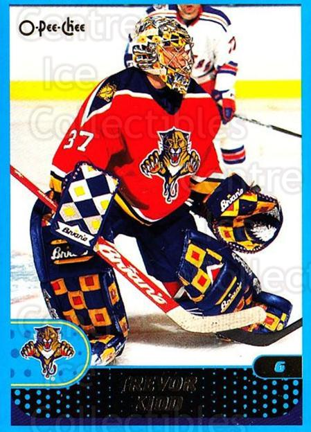 2001-02 O-Pee-Chee #243 Trevor Kidd<br/>4 In Stock - $1.00 each - <a href=https://centericecollectibles.foxycart.com/cart?name=2001-02%20O-Pee-Chee%20%23243%20Trevor%20Kidd...&quantity_max=4&price=$1.00&code=196080 class=foxycart> Buy it now! </a>