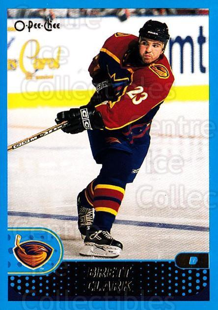 2001-02 O-Pee-Chee #247 Brett Clark<br/>6 In Stock - $1.00 each - <a href=https://centericecollectibles.foxycart.com/cart?name=2001-02%20O-Pee-Chee%20%23247%20Brett%20Clark...&quantity_max=6&price=$1.00&code=196084 class=foxycart> Buy it now! </a>