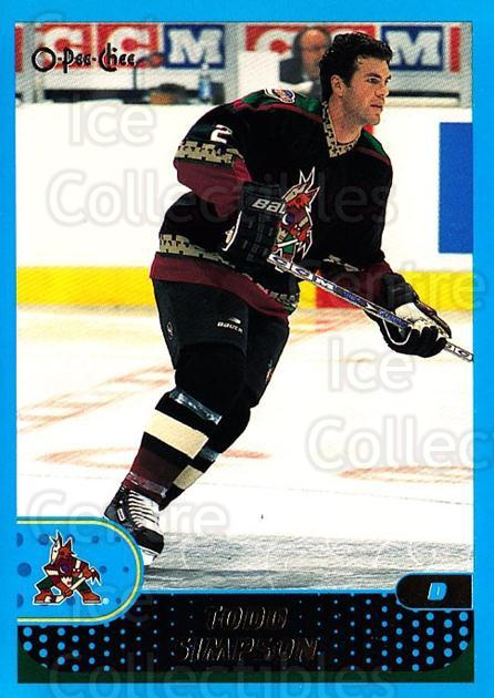 2001-02 O-Pee-Chee #261 Todd Simpson<br/>4 In Stock - $1.00 each - <a href=https://centericecollectibles.foxycart.com/cart?name=2001-02%20O-Pee-Chee%20%23261%20Todd%20Simpson...&quantity_max=4&price=$1.00&code=196098 class=foxycart> Buy it now! </a>