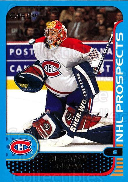 2001-02 O-Pee-Chee #276 Mathieu Garon<br/>1 In Stock - $1.00 each - <a href=https://centericecollectibles.foxycart.com/cart?name=2001-02%20O-Pee-Chee%20%23276%20Mathieu%20Garon...&quantity_max=1&price=$1.00&code=196111 class=foxycart> Buy it now! </a>