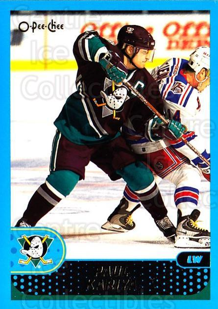 2001-02 O-Pee-Chee #28 Paul Kariya<br/>4 In Stock - $1.00 each - <a href=https://centericecollectibles.foxycart.com/cart?name=2001-02%20O-Pee-Chee%20%2328%20Paul%20Kariya...&quantity_max=4&price=$1.00&code=196114 class=foxycart> Buy it now! </a>