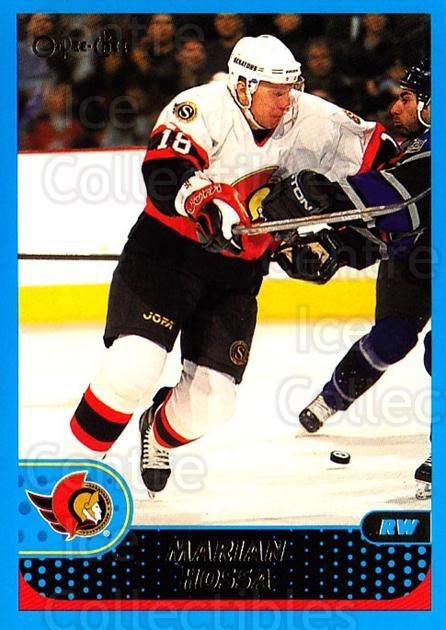 2001-02 O-Pee-Chee #29 Marian Hossa<br/>6 In Stock - $1.00 each - <a href=https://centericecollectibles.foxycart.com/cart?name=2001-02%20O-Pee-Chee%20%2329%20Marian%20Hossa...&quantity_max=6&price=$1.00&code=196119 class=foxycart> Buy it now! </a>