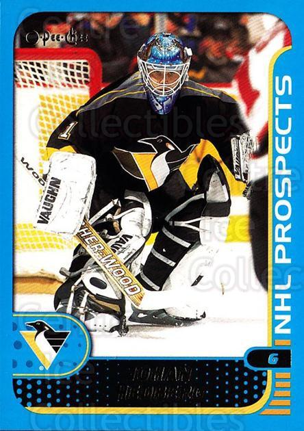 2001-02 O-Pee-Chee #294 Johan Hedberg<br/>1 In Stock - $1.00 each - <a href=https://centericecollectibles.foxycart.com/cart?name=2001-02%20O-Pee-Chee%20%23294%20Johan%20Hedberg...&quantity_max=1&price=$1.00&code=196123 class=foxycart> Buy it now! </a>
