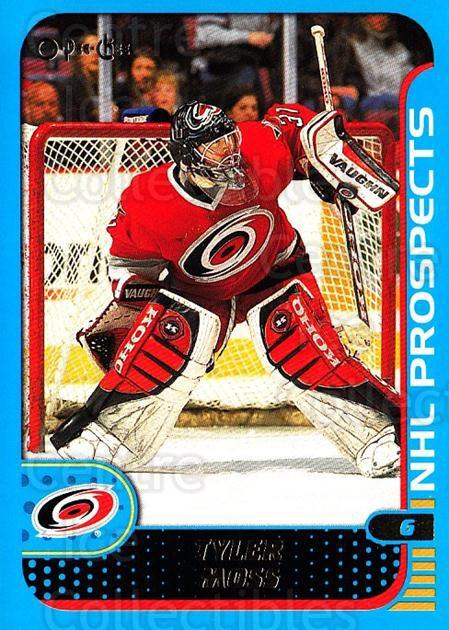 2001-02 O-Pee-Chee #295 Tyler Moss<br/>1 In Stock - $1.00 each - <a href=https://centericecollectibles.foxycart.com/cart?name=2001-02%20O-Pee-Chee%20%23295%20Tyler%20Moss...&quantity_max=1&price=$1.00&code=196124 class=foxycart> Buy it now! </a>