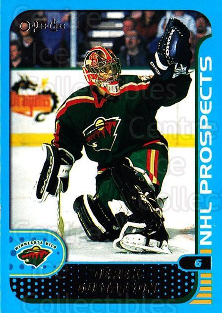 2001-02 O-Pee-Chee #298 Derek Gustafson<br/>1 In Stock - $1.00 each - <a href=https://centericecollectibles.foxycart.com/cart?name=2001-02%20O-Pee-Chee%20%23298%20Derek%20Gustafson...&quantity_max=1&price=$1.00&code=196127 class=foxycart> Buy it now! </a>