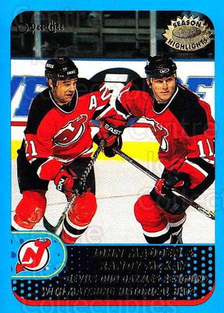 2001-02 O-Pee-Chee #321 John Madden, Randy McKay<br/>1 In Stock - $1.00 each - <a href=https://centericecollectibles.foxycart.com/cart?name=2001-02%20O-Pee-Chee%20%23321%20John%20Madden,%20Ra...&quantity_max=1&price=$1.00&code=196151 class=foxycart> Buy it now! </a>