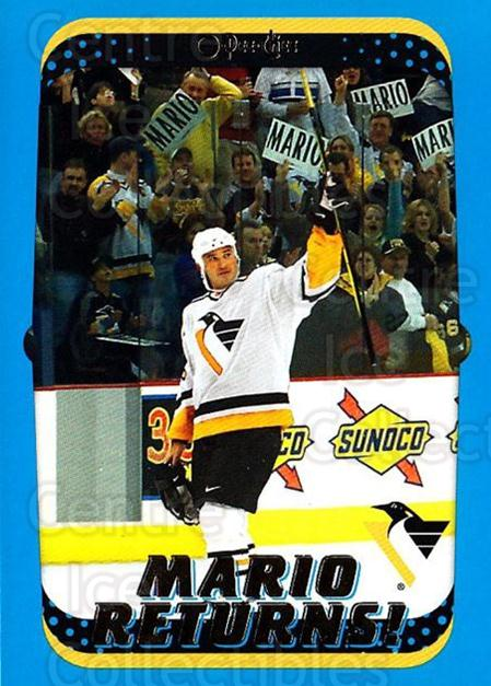 2001-02 O-Pee-Chee #327 Mario Lemieux<br/>4 In Stock - $2.00 each - <a href=https://centericecollectibles.foxycart.com/cart?name=2001-02%20O-Pee-Chee%20%23327%20Mario%20Lemieux...&quantity_max=4&price=$2.00&code=196157 class=foxycart> Buy it now! </a>