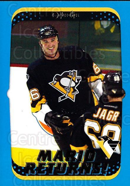 2001-02 O-Pee-Chee #328 Mario Lemieux<br/>4 In Stock - $2.00 each - <a href=https://centericecollectibles.foxycart.com/cart?name=2001-02%20O-Pee-Chee%20%23328%20Mario%20Lemieux...&quantity_max=4&price=$2.00&code=196158 class=foxycart> Buy it now! </a>
