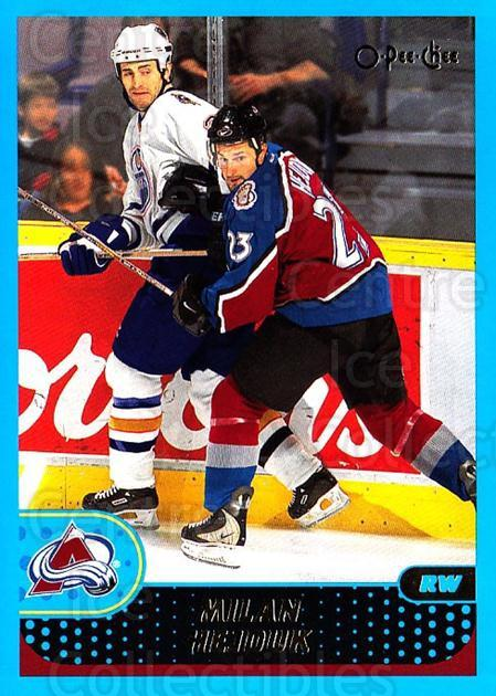 2001-02 O-Pee-Chee #51 Milan Hejduk<br/>4 In Stock - $1.00 each - <a href=https://centericecollectibles.foxycart.com/cart?name=2001-02%20O-Pee-Chee%20%2351%20Milan%20Hejduk...&quantity_max=4&price=$1.00&code=196182 class=foxycart> Buy it now! </a>