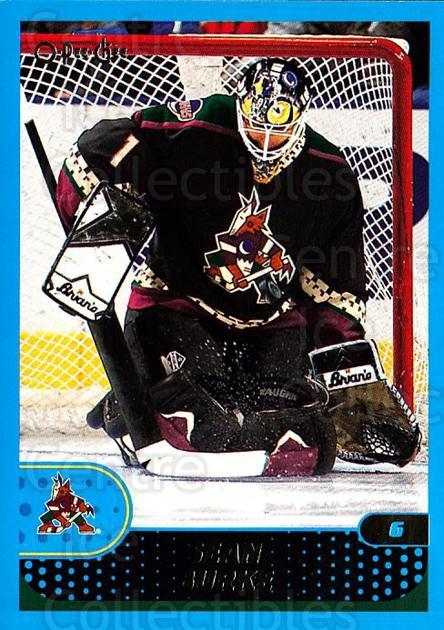 2001-02 O-Pee-Chee #56 Sean Burke<br/>4 In Stock - $1.00 each - <a href=https://centericecollectibles.foxycart.com/cart?name=2001-02%20O-Pee-Chee%20%2356%20Sean%20Burke...&quantity_max=4&price=$1.00&code=196187 class=foxycart> Buy it now! </a>
