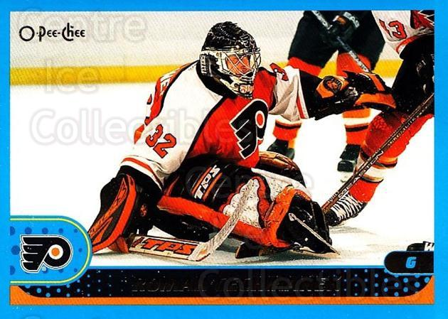 2001-02 O-Pee-Chee #59 Roman Cechmanek<br/>3 In Stock - $1.00 each - <a href=https://centericecollectibles.foxycart.com/cart?name=2001-02%20O-Pee-Chee%20%2359%20Roman%20Cechmanek...&quantity_max=3&price=$1.00&code=196190 class=foxycart> Buy it now! </a>