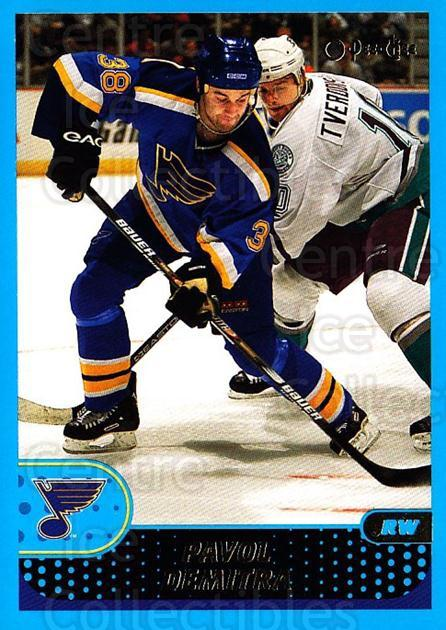 2001-02 O-Pee-Chee #61 Pavol Demitra<br/>4 In Stock - $1.00 each - <a href=https://centericecollectibles.foxycart.com/cart?name=2001-02%20O-Pee-Chee%20%2361%20Pavol%20Demitra...&quantity_max=4&price=$1.00&code=196193 class=foxycart> Buy it now! </a>