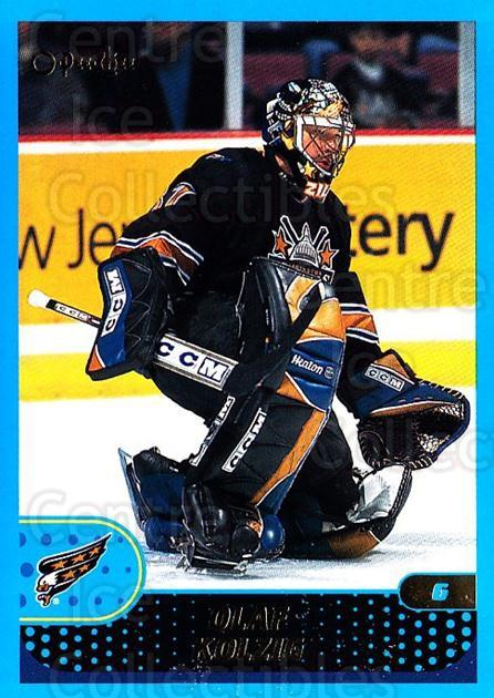 2001-02 O-Pee-Chee #7 Olaf Kolzig<br/>3 In Stock - $1.00 each - <a href=https://centericecollectibles.foxycart.com/cart?name=2001-02%20O-Pee-Chee%20%237%20Olaf%20Kolzig...&quantity_max=3&price=$1.00&code=196201 class=foxycart> Buy it now! </a>
