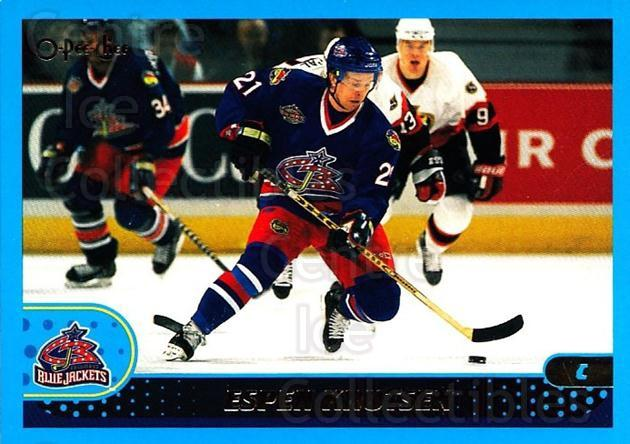 2001-02 O-Pee-Chee #70 Espen Knutsen<br/>1 In Stock - $1.00 each - <a href=https://centericecollectibles.foxycart.com/cart?name=2001-02%20O-Pee-Chee%20%2370%20Espen%20Knutsen...&quantity_max=1&price=$1.00&code=196202 class=foxycart> Buy it now! </a>