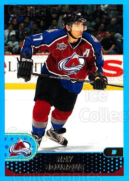 2001-02 O-Pee-Chee #89 Ray Bourque<br/>1 In Stock - $1.00 each - <a href=https://centericecollectibles.foxycart.com/cart?name=2001-02%20O-Pee-Chee%20%2389%20Ray%20Bourque...&quantity_max=1&price=$1.00&code=196225 class=foxycart> Buy it now! </a>