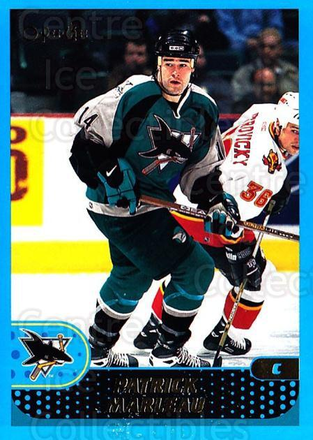 2001-02 O-Pee-Chee #9 Patrick Marleau<br/>3 In Stock - $1.00 each - <a href=https://centericecollectibles.foxycart.com/cart?name=2001-02%20O-Pee-Chee%20%239%20Patrick%20Marleau...&quantity_max=3&price=$1.00&code=196226 class=foxycart> Buy it now! </a>