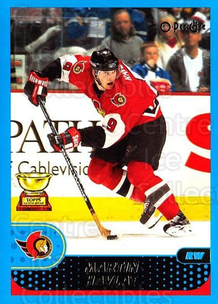 2001-02 O-Pee-Chee #93 Martin Havlat<br/>2 In Stock - $1.00 each - <a href=https://centericecollectibles.foxycart.com/cart?name=2001-02%20O-Pee-Chee%20%2393%20Martin%20Havlat...&quantity_max=2&price=$1.00&code=196230 class=foxycart> Buy it now! </a>